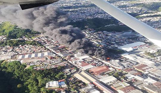 Increíble labor  bomberil de Guatemala